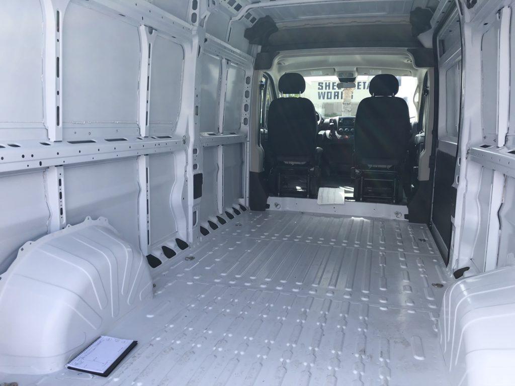 Dodge Promaster Cargo Area