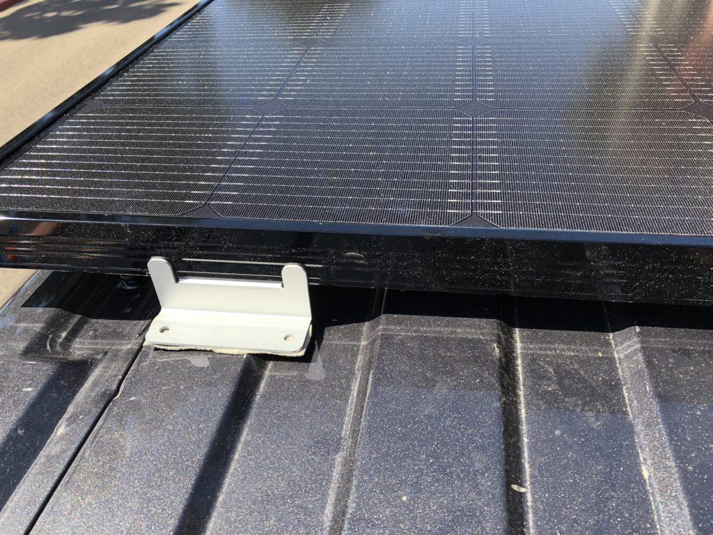 Solar Panel Installation Putty Application
