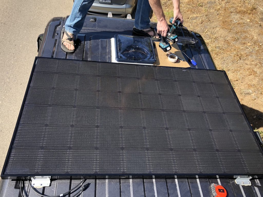 Solar Panel Installation Final Product