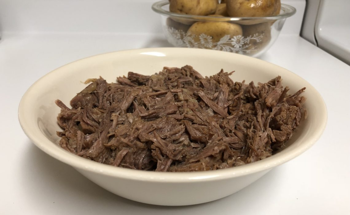 How To Make Shredded Beef with an Instant Pot