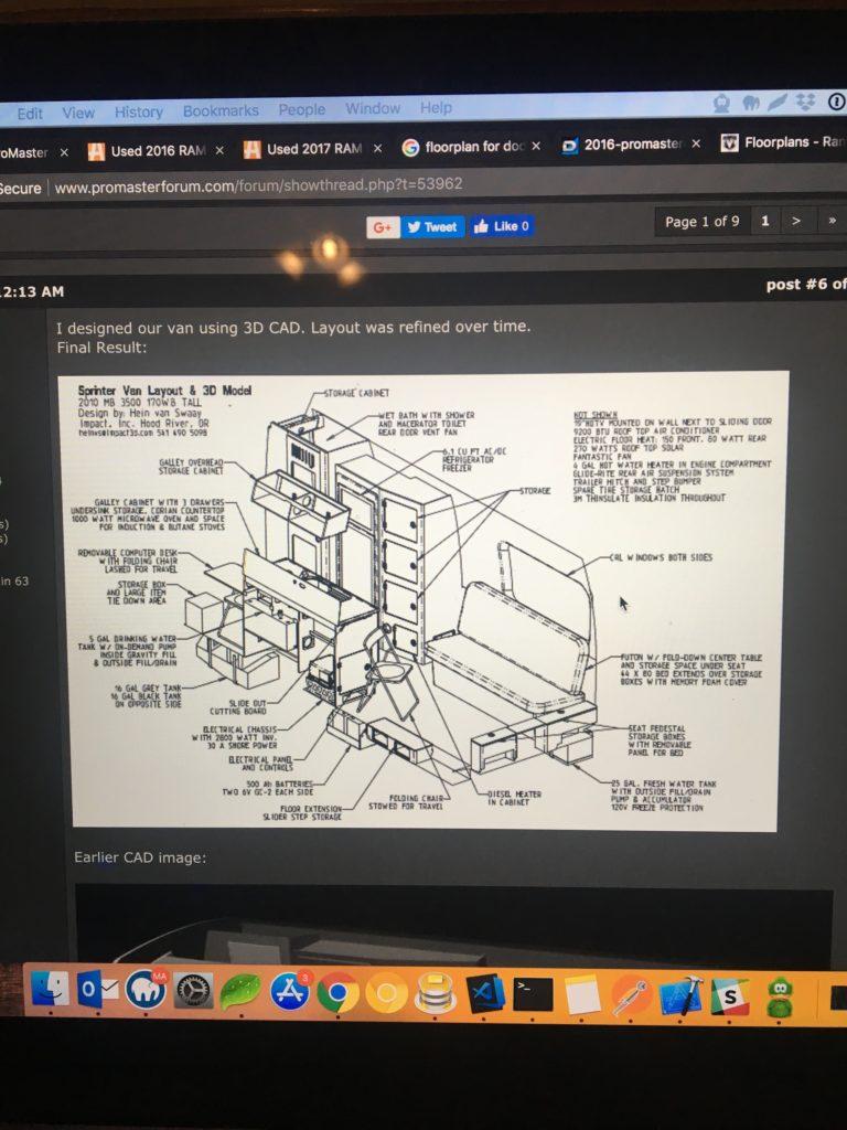 Dodge Promaster Diagram