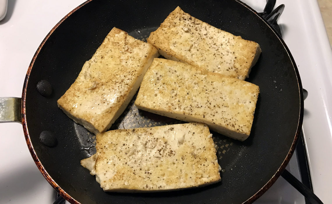 Meal Prep: How To Make Vegan Grilled Tofu Sandwiches
