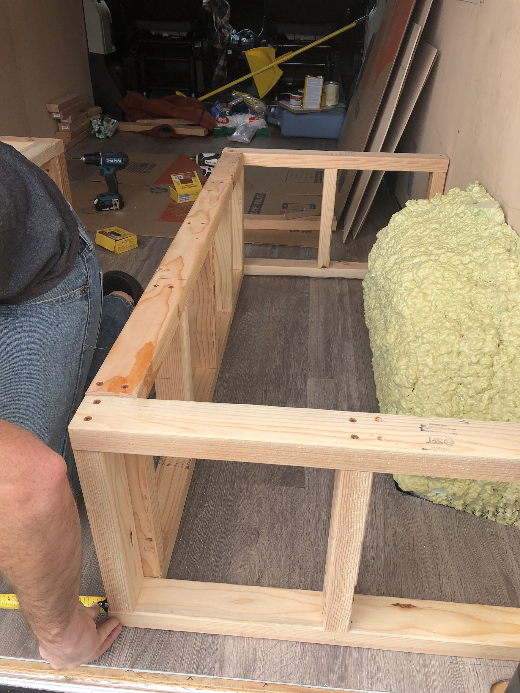 How To Build A Convertible Bed And Bench Seat In A Ram Promaster Tips To Prepare For Van Life
