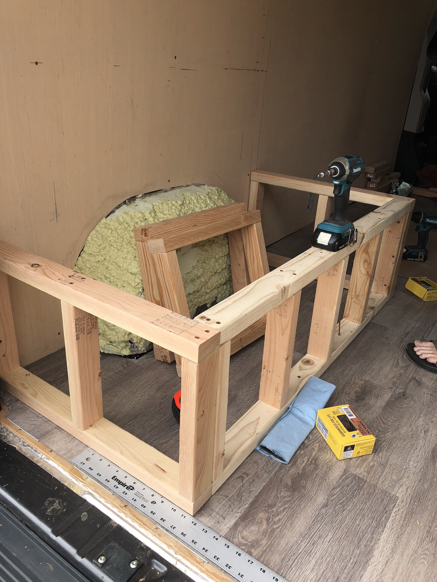 Prime How To Build A Convertible Bed And Bench Seat In A Ram Pdpeps Interior Chair Design Pdpepsorg