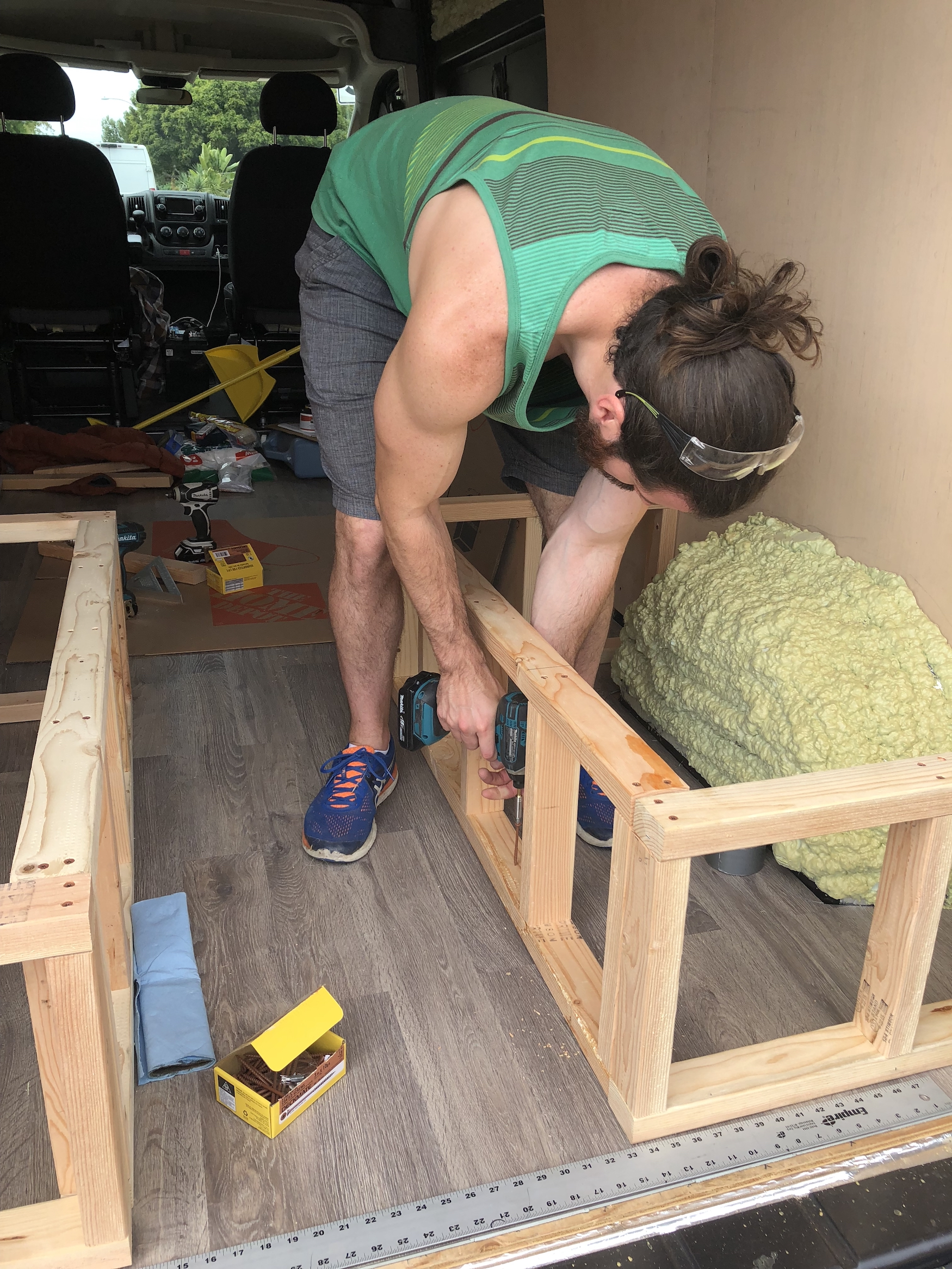 Amazing How To Build A Convertible Bed And Bench Seat In A Ram Ocoug Best Dining Table And Chair Ideas Images Ocougorg