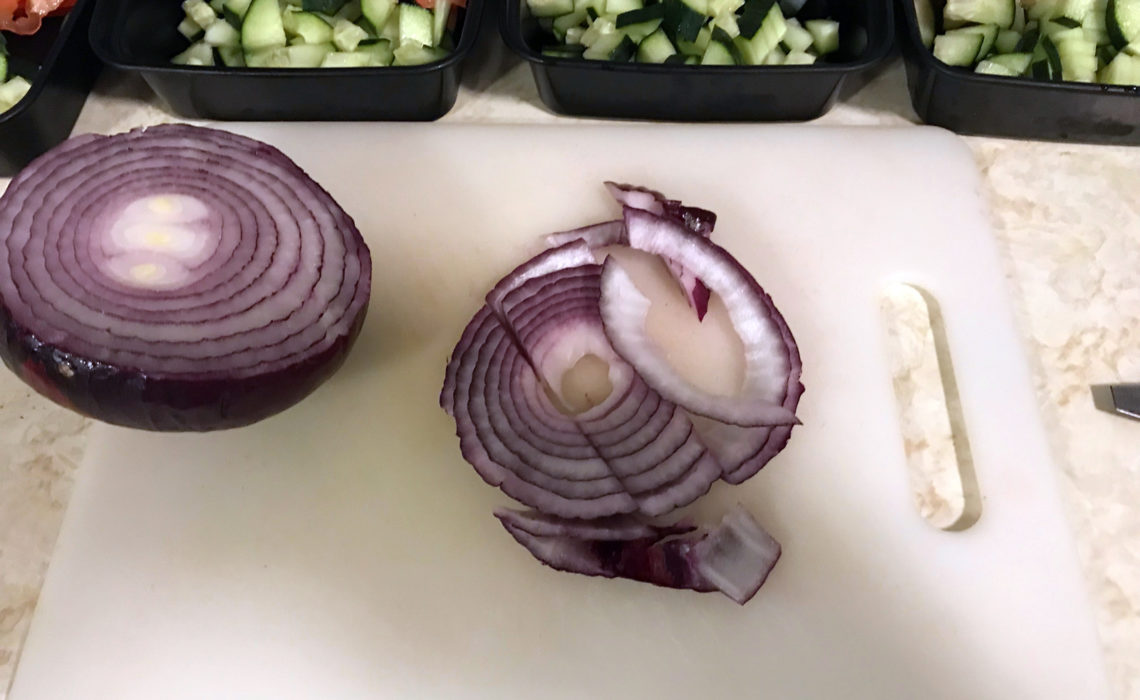 Meal Prep: How To Make Vegan Mediterranean Veggie Sandwiches