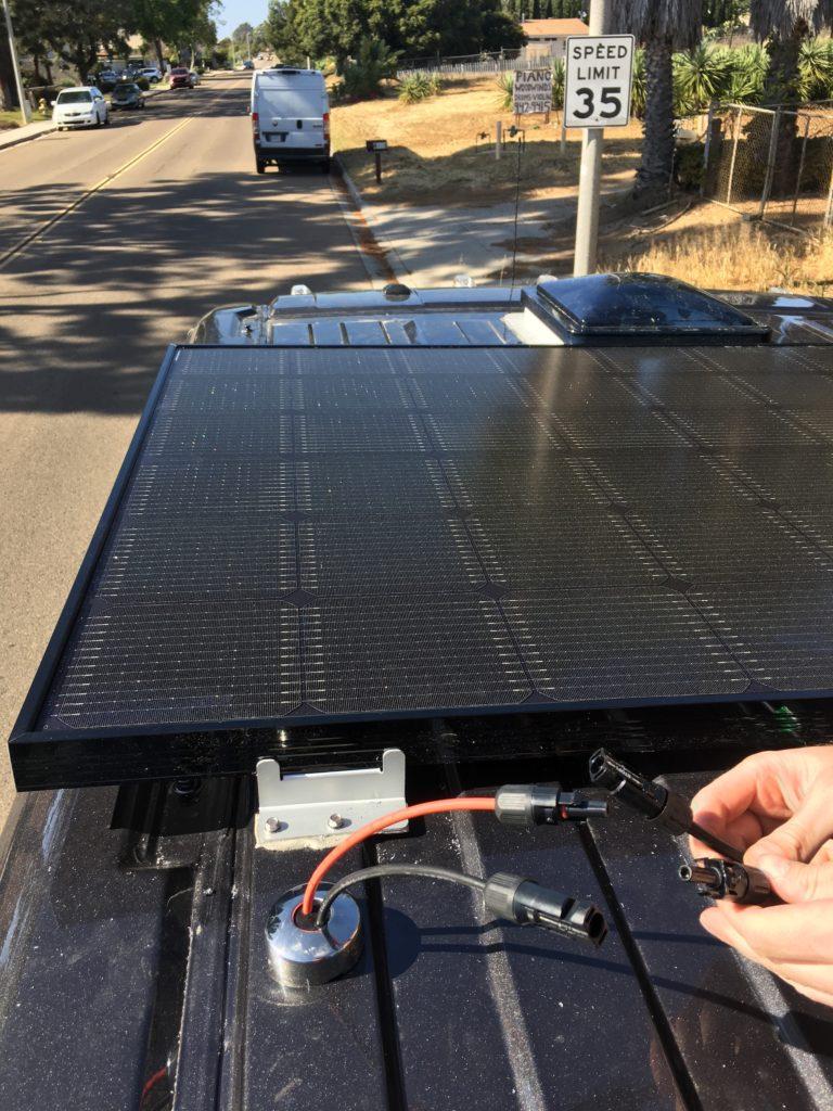Solar Panel Installation Connectors